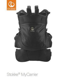 STOKKE MYCARRIER 3IN1 MESH - svart, Basics, ytterligare naturmaterial (40/35/10cm) - Stokke