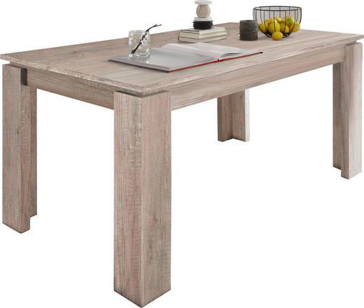ESSTISCH rechteckig Eichefarben - Eichefarben, Basics, Holzwerkstoff (160-200/90/77cm) - Carryhome