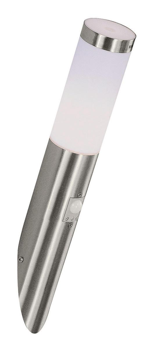 AUßENLEUCHTE Weiß - Weiß, KONVENTIONELL, Kunststoff/Metall (7.6/41cm)