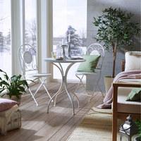 Gartengarnitur  3-teilig - Multicolor, Trend, Glas/Stein - Ambia Garden