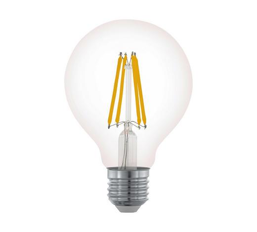 LED-Leuchtmittel E27 - Klar, Basics, Glas (12cm) - Homeware