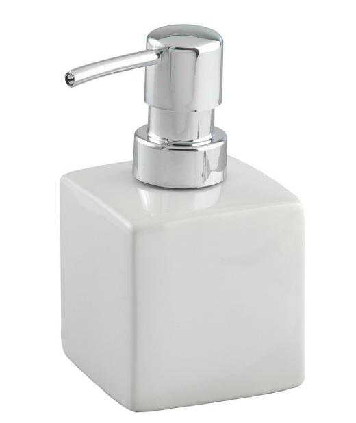 SEIFENSPENDER - Weiß, Design, Keramik (7/7/13cm)