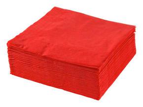 SERVETT - röd, Basics, papper (40/40cm) - Xxxlpack