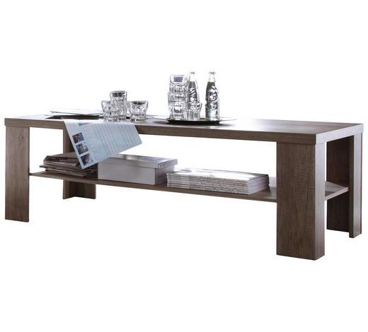 COUCHTISCH rechteckig Trüffeleichefarben  - Trüffeleichefarben, Design (130/65/45cm) - Carryhome