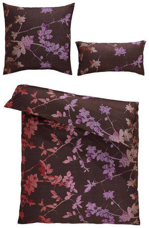 BETTWÄSCHE Interlock-Jersey Weinrot - Weinrot, Design, Textil (27/37/8cm) - Estella