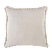ZIERKISSEN 48/48 cm  - Silberfarben/Weiß, KONVENTIONELL, Textil (48/48cm) - Ambiente