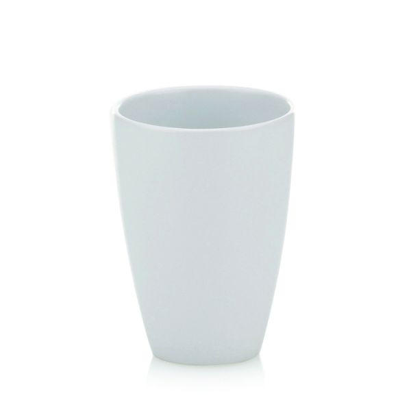 ZAHNPUTZBECHER - Weiß, Basics (8/11cm)