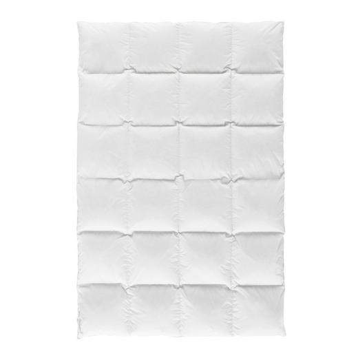 DAUNENDECKE  135/200 cm - Weiß, Design, Textil (135/200cm) - Centa-Star