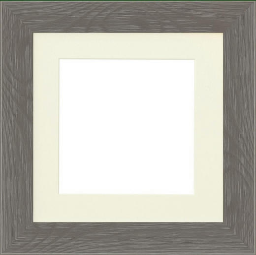 RAHMEN in Taupe - Taupe, Basics, Glas/Holz (25,4cm)
