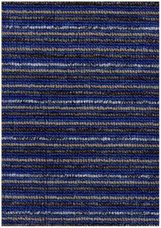 KÜCHENTEPPICH 50/80 cm - Blau/Beige, KONVENTIONELL, Kunststoff (50/80cm) - BOXXX