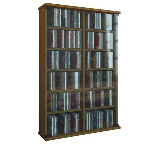CD-REGAL Eichefarben  - Eichefarben, KONVENTIONELL, Glas/Holzwerkstoff (60/92/18cm)