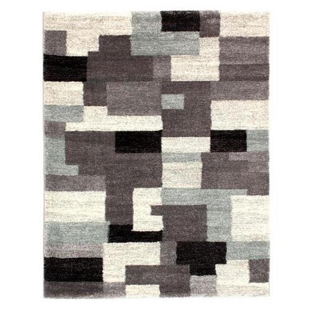 Novel Webteppich 65/130 cm blau, grau , Steady Allover , Textil , 65 cm , 007946111552