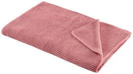 WOHNDECKE 150/200 cm  - Pink, KONVENTIONELL, Textil (150/200cm) - Novel