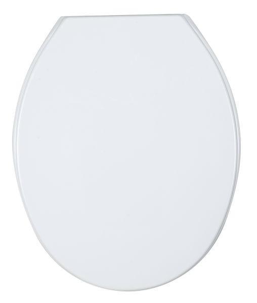 WC-SITZ Weiß - Weiß, Basics, Kunststoff (36/45cm)
