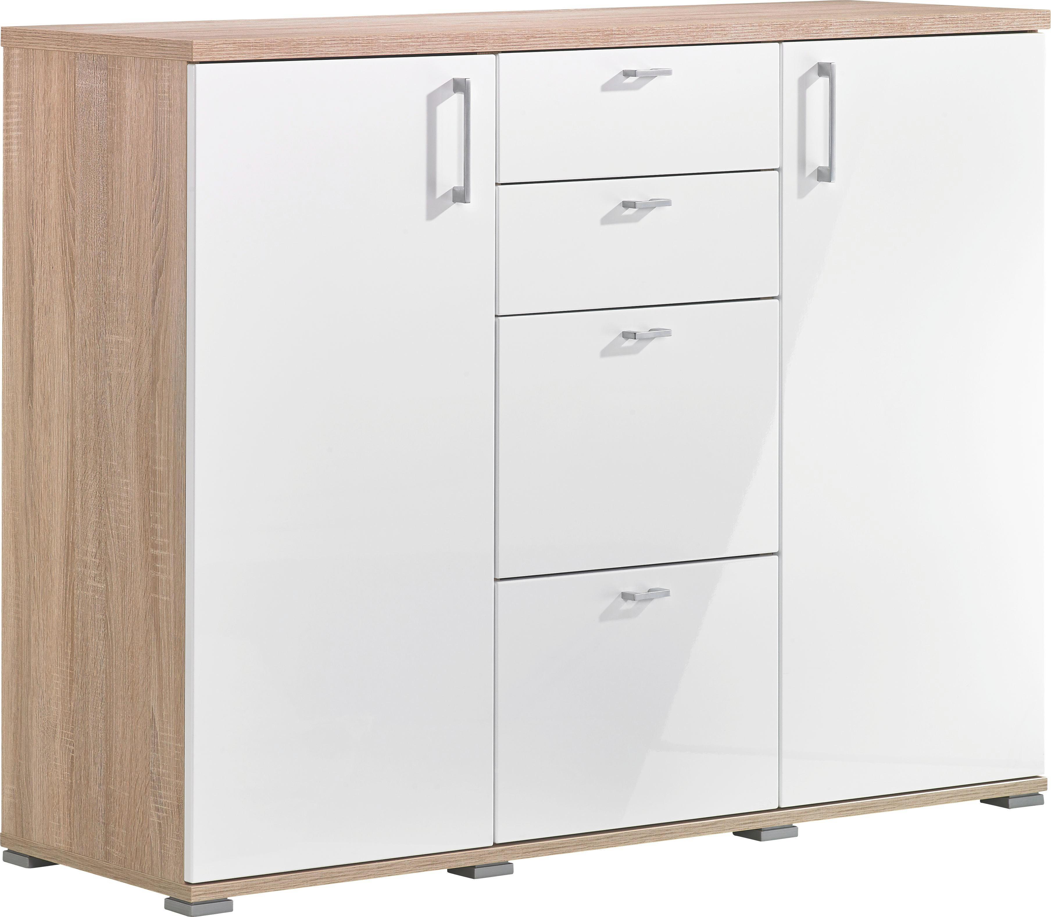Kommode Eichefarben Silberfarben Design Holzwerkstoff Kunststoff Cs Schmal?upscaleu003dpaddu0026wu003d520u0026hu003d470u0026qltu003d90