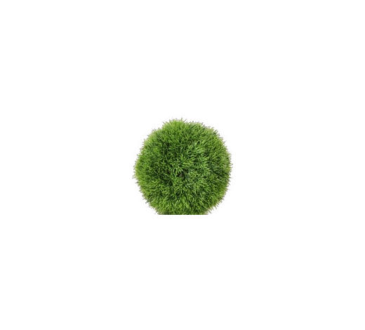 KOULE TRÁVA - zelená, Basics, umělá hmota (15/15/15cm)