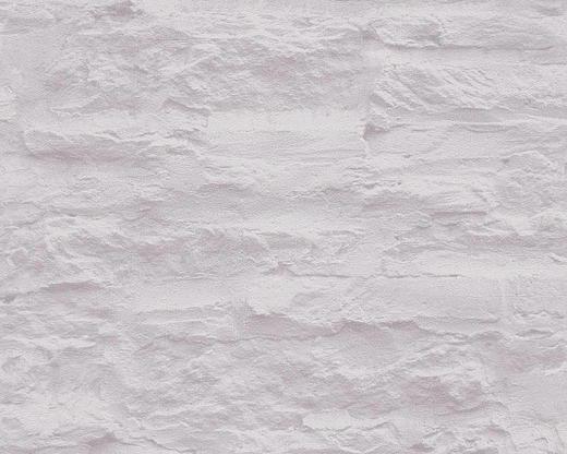 VLIESTAPETE 10,05 m - Hellgrau/Grau, Basics, Textil (53/1005cm)