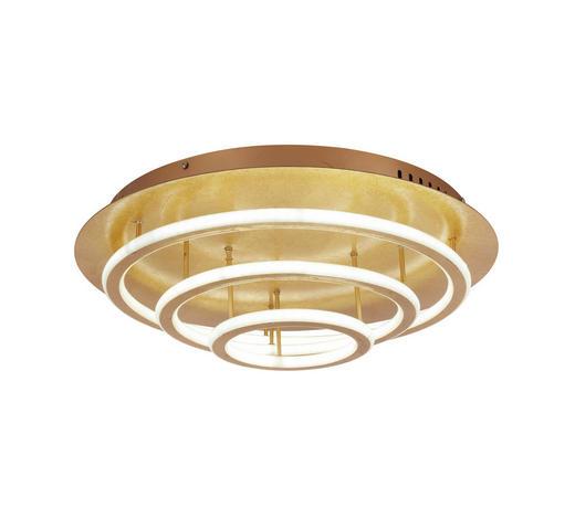 LED-DECKENLEUCHTE - Goldfarben, LIFESTYLE, Kunststoff/Metall (50/15cm)