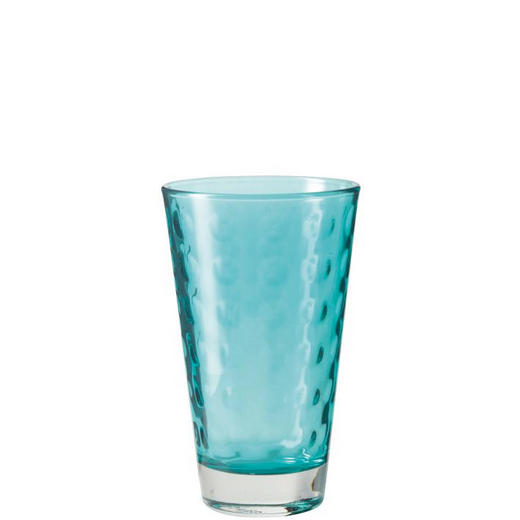 TRINKGLAS - Blau, KONVENTIONELL, Glas (8/13/8cm) - Leonardo