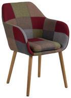 ARMLEHNSTUHL in Multicolor - Multicolor, Design, Holz/Textil (58/84/58cm) - Carryhome