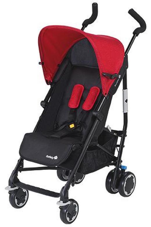 BUGGY  CompaCity  Rot, Schwarz - Rot/Schwarz, Basics, Textil/Metall (48/110/78cm) - Safety 1st
