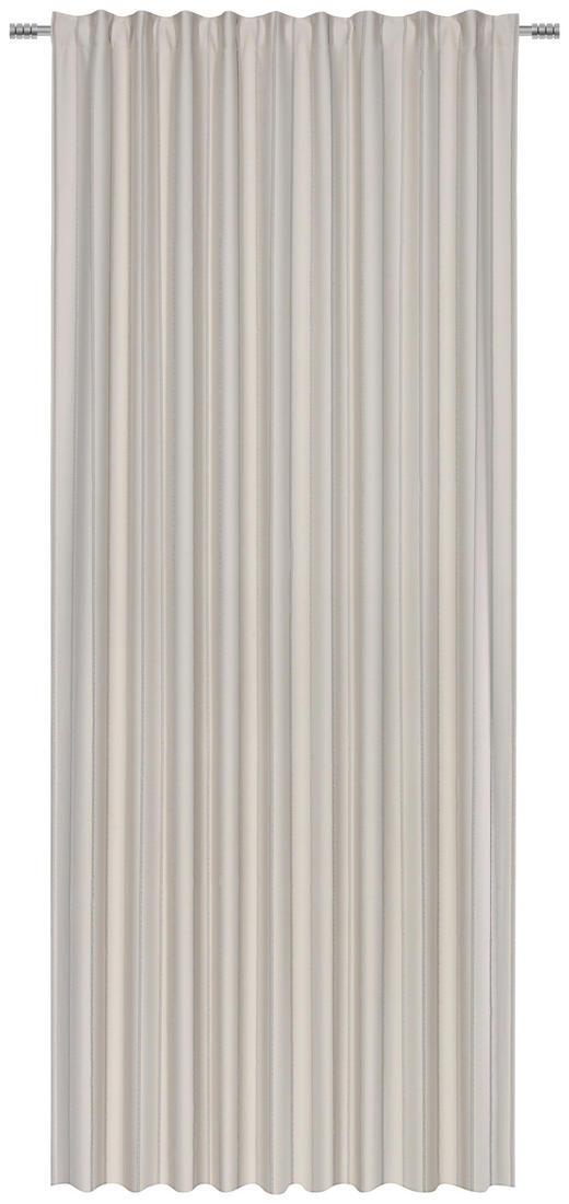 FERTIGVORHANG  black-out (lichtundurchlässig)  140/260 cm - Silberfarben, KONVENTIONELL, Textil (140/260cm) - Esposa