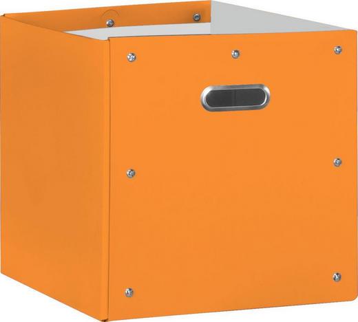 BOX Karton Orange - Orange, Design, Karton (32/32/32cm)