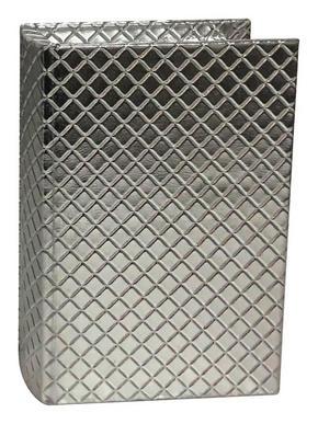 BOKLÅDA - silver, Klassisk, plast (30/22/7,5cm) - Ambia Home