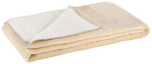 DEKA - bijela/krem, Konvencionalno, tekstil (150/200cm)