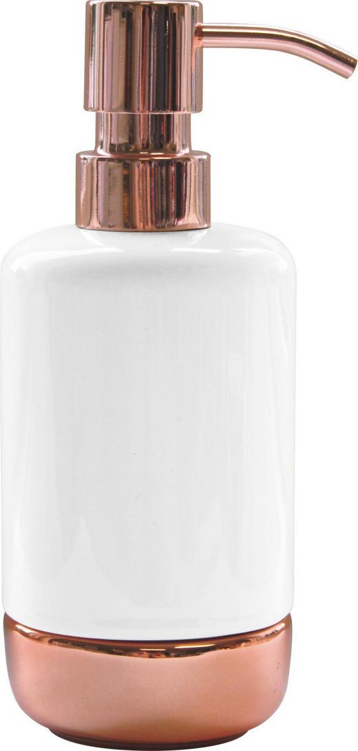 SEIFENSPENDER - Weiß, Basics, Keramik/Metall (7,3/17,6cm) - Celina
