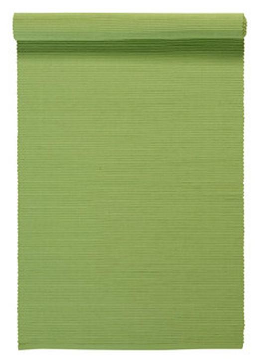 TISCHLÄUFER Textil Grün 45/150 cm - Grün, Basics, Textil (45/150cm) - LINUM