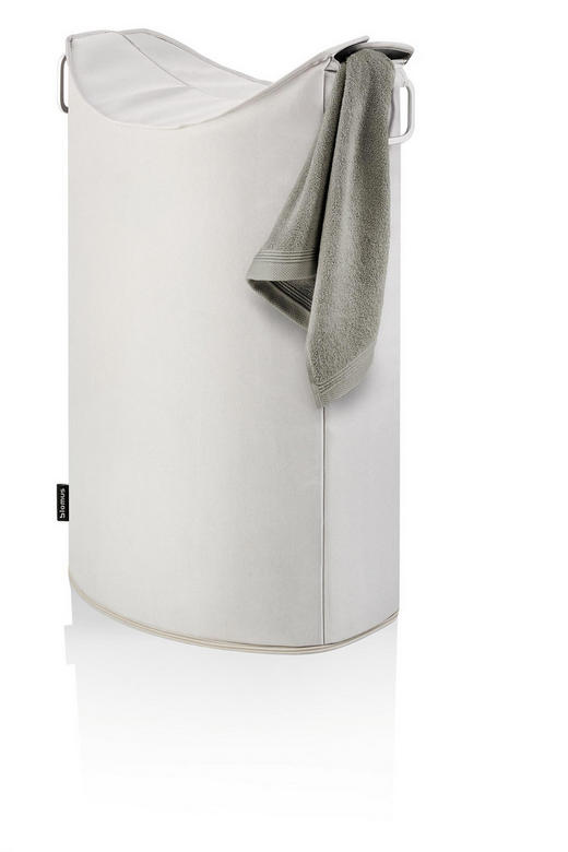 WÄSCHETONNE - Sandfarben, Basics, Textil/Metall (45/70/28cm) - Blomus