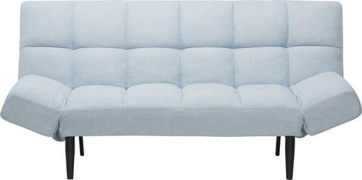 ROZKLÁDACÍ POHOVKA, černá, modrá, šedá, dřevo, kov, textil, - šedá/modrá, Design, kov/dřevo (182,50/89/85cm) - Xora