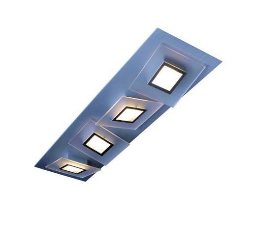 LED-DECKENLEUCHTE - Alufarben, LIFESTYLE, Metall (17/60/10cm)