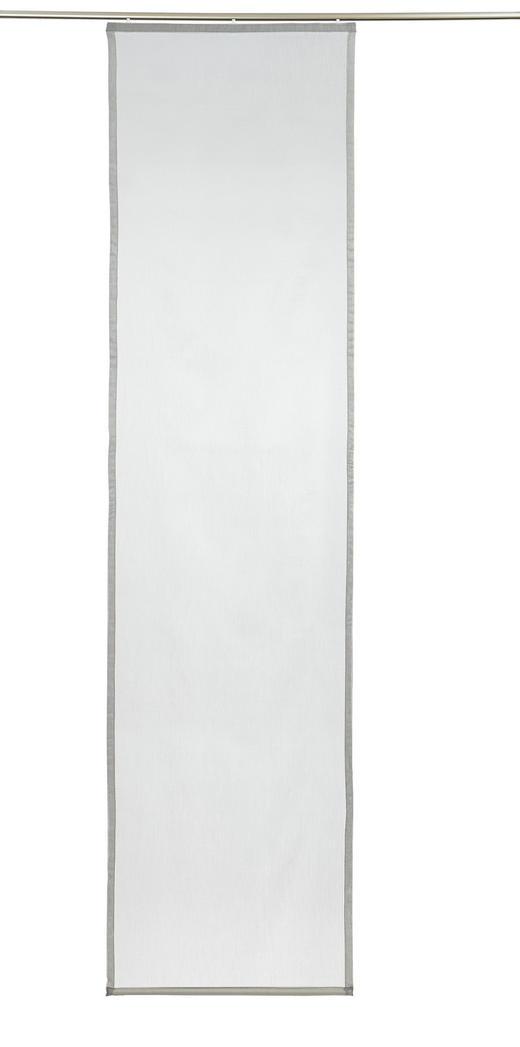FLÄCHENVORHANG   halbtransparent   60/245 cm - Silberfarben, Basics, Textil (60/245cm) - NOVEL