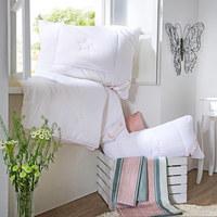 GANZJAHRESDECKE 140/200 cm - Weiß, Basics (140/200cm) - Schlafmond