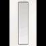 WANDSPIEGEL  - Schwarz, MODERN, Glas/Metall (60/180/2,5cm) - Kare-Design