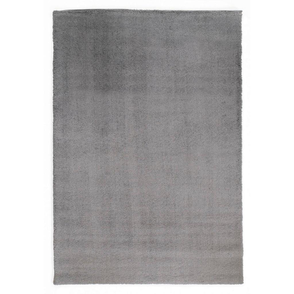 Novel Webteppich , Grau , Textil , Uni , rechteckig , 80 cm , in verschiedenen Größen erhältlich , Teppiche & Böden, Teppiche, Moderne Teppiche