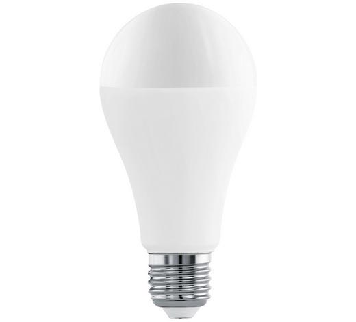 LED-Leuchtmittel E27 - Weiß, Basics, Glas (13,4cm) - Homeware