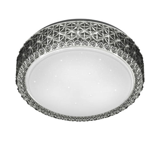 LED-DECKENLEUCHTE - Grau, LIFESTYLE, Kunststoff (28,0/9,0cm) - Boxxx