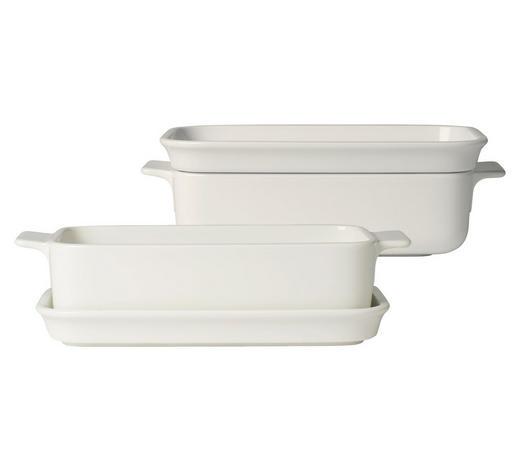 AUFLAUFFORMENSET 25/14/8 cm   - Weiß, Design, Keramik (25/14/8cm) - Villeroy & Boch