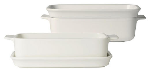 AUFLAUFFORMENSET Keramik Porzellan - Weiß, Keramik (25/14/8cm) - Villeroy & Boch