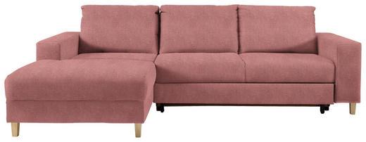WOHNLANDSCHAFT in Textil Rosa - Buchefarben/Rosa, Design, Holz/Textil (160/260cm) - Ti`me
