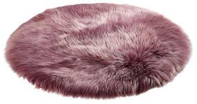 KUNSTFELL   Rosa - Rosa, Trend, Textil (100cm) - Novel