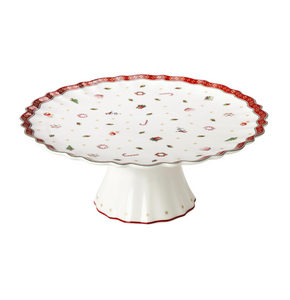 STALAK ZA TORTU - Crvena/Bela, Moderno, Keramika (40/20cm) - Villeroy & Boch