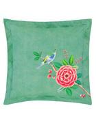 OKRASNA BLAZINA - zelena, Konvencionalno, tekstil (45/45/20cm) - Pip Home