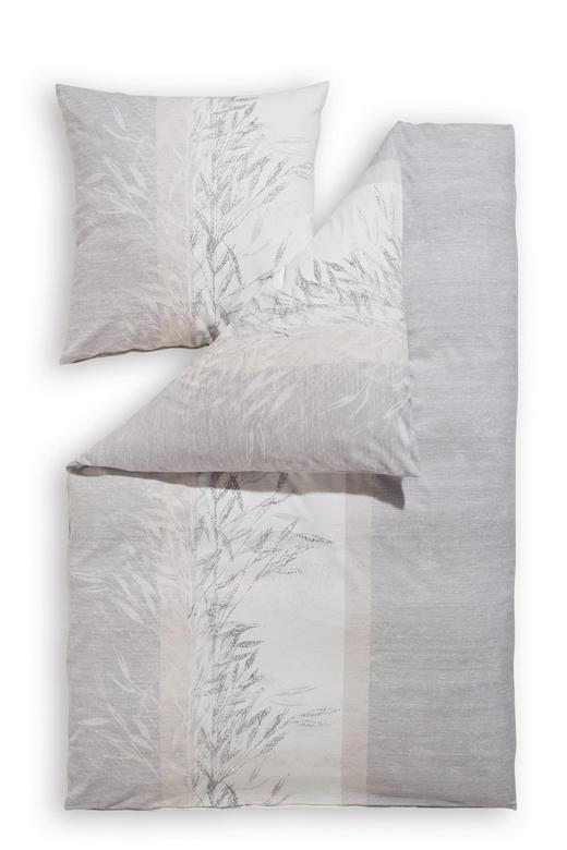 BETTWÄSCHE Biber Silberfarben 135/200 cm - Silberfarben, Natur, Textil (135/200cm) - Estella