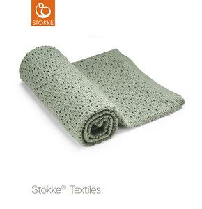 PREKRIVAČ ZA BEBE - Zelena, Tekstil (80/80cm) - Stokke