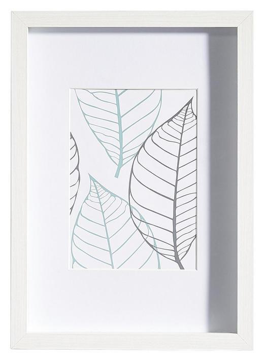 BILDERRAHMEN in Weiß - Weiß, Basics, Glas/Holz (23/32/3cm)