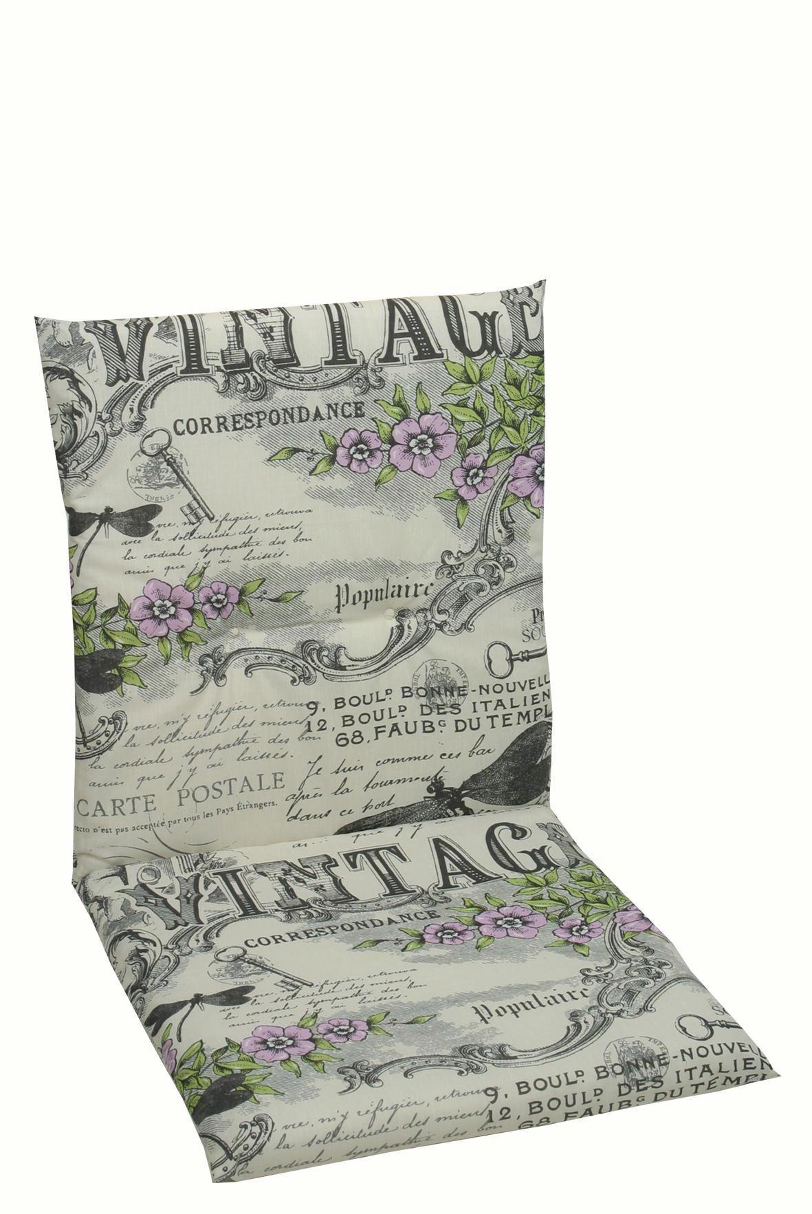 JASTUK ZA STOLICU - siva/zelena, Design, tekstil (50/98/5cm) - AMBIA GARDEN